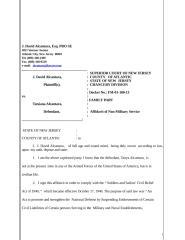Affidavit non Military.doc