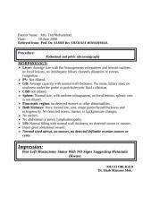 Normal mastectomy.doc