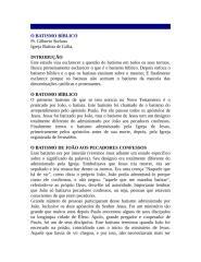 O BATISMO BÍBLICO.doc