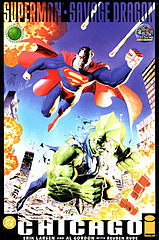 superman & savage dragon - chicago.cbr