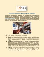Get some professional help with your restaurant construction.pdf