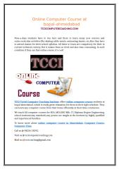 Online Computer Course at bopal-ahmedabad.doc