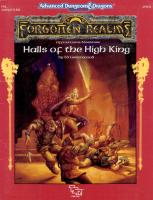 AD&D - Forgotten Realms - Adventure - Halls of the High King.pdf