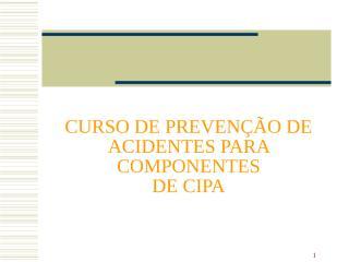 TREINAMENTO CIPA 3.ppt